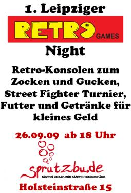1.Leipziger RETRO Games Night
