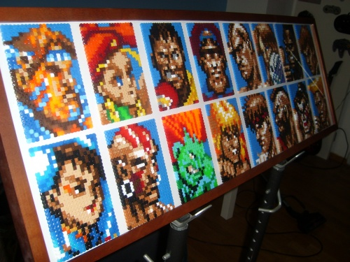 STREET FIGHTER BEADS #5#